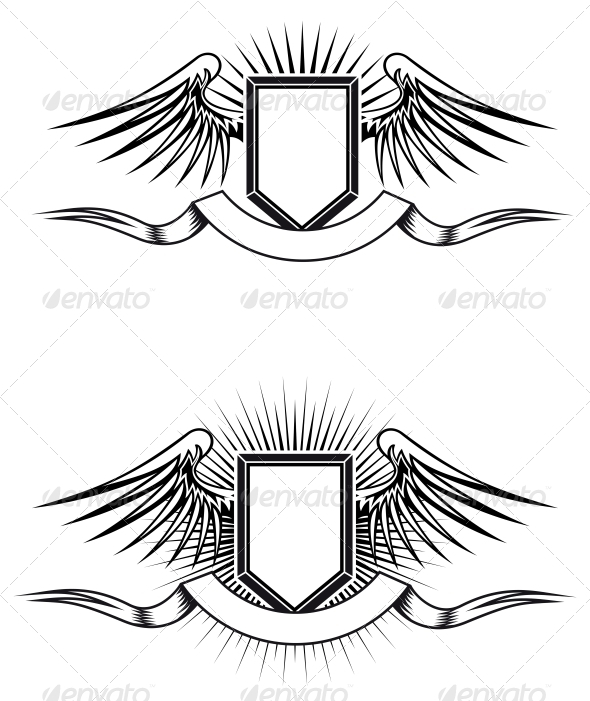 Heraldic Emblems - Decorative Symbols Decorative
