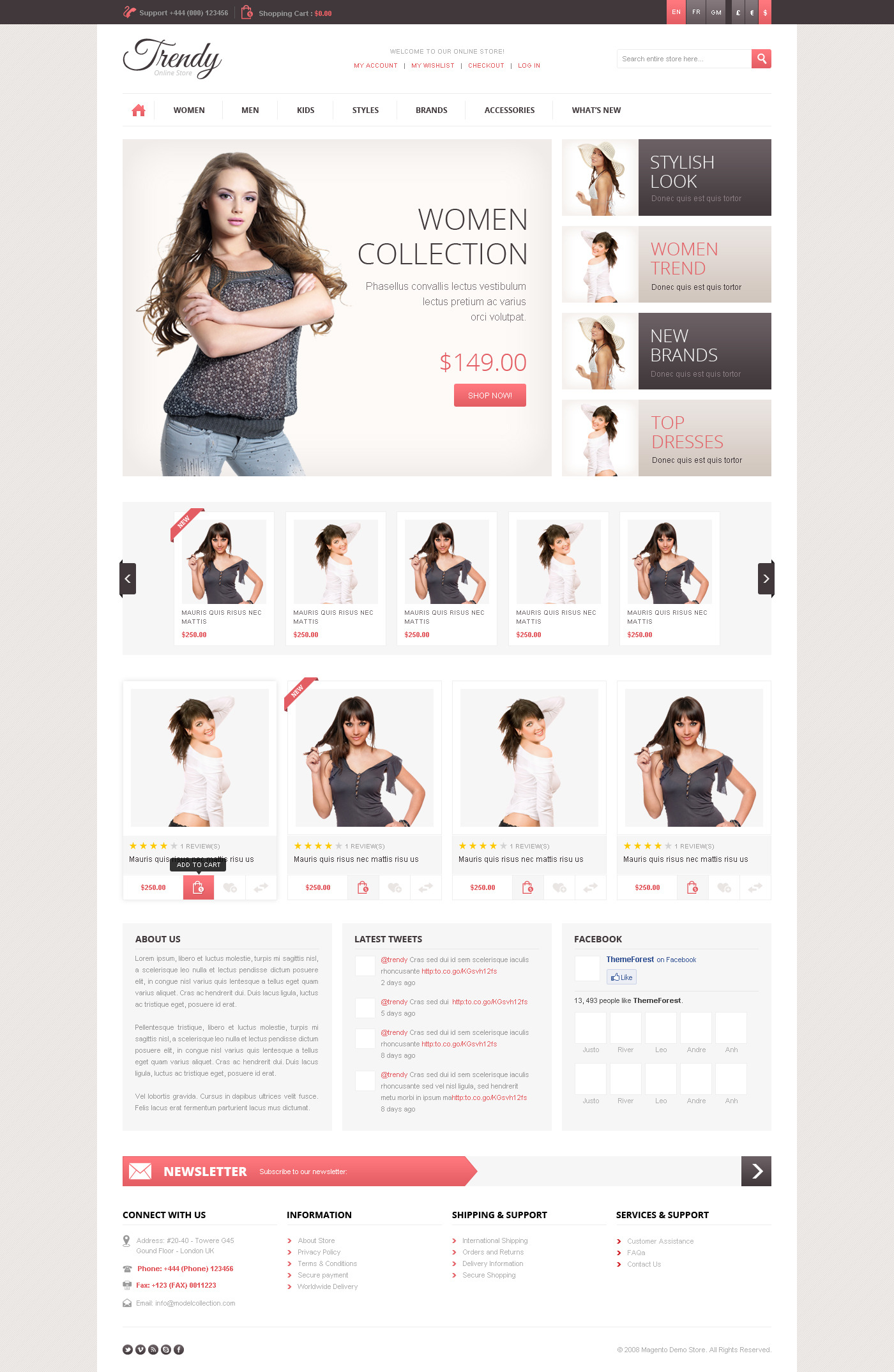 6 free responsive magento themes for your next ecommerce store.