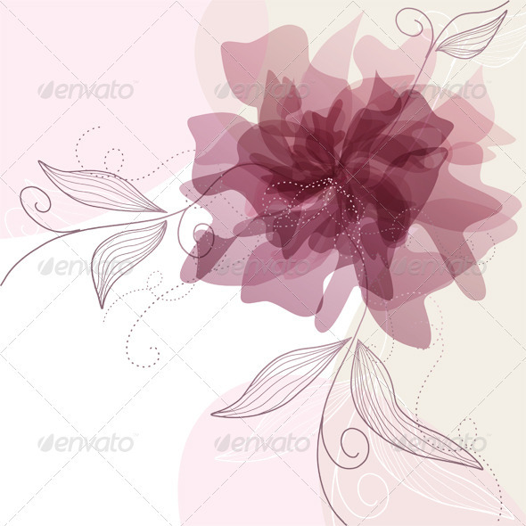 Floral Background - Weddings Seasons/Holidays