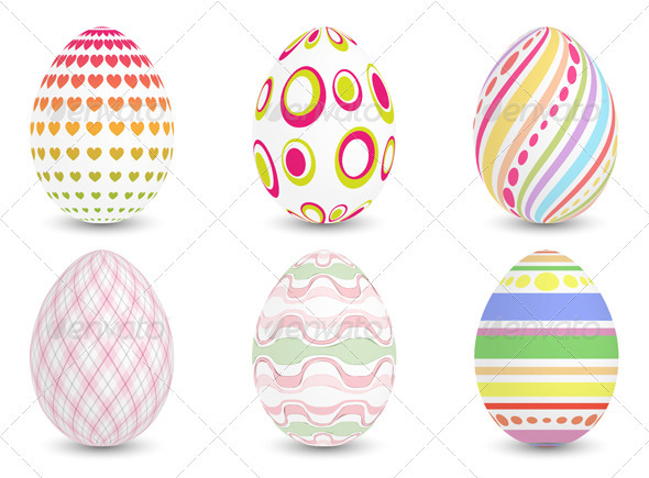 Easter Eggs - Miscellaneous Seasons/Holidays