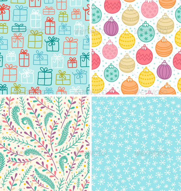 Holiday Patterns - Patterns Decorative