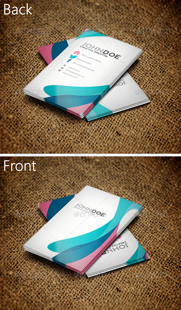 Colorful Business Card 3 - Creative Business Cards