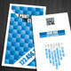 Pixel Creative Business Card - GraphicRiver Item for Sale