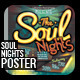 Soul Nights Flyer - Poster - GraphicRiver Item for Sale