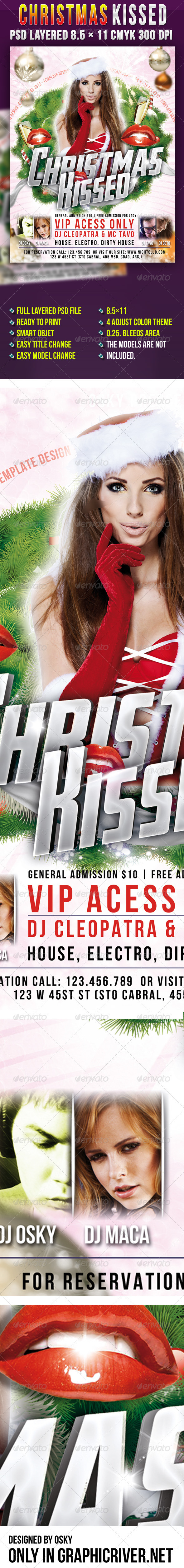 Christmas Kissed Party - Clubs & Parties Events