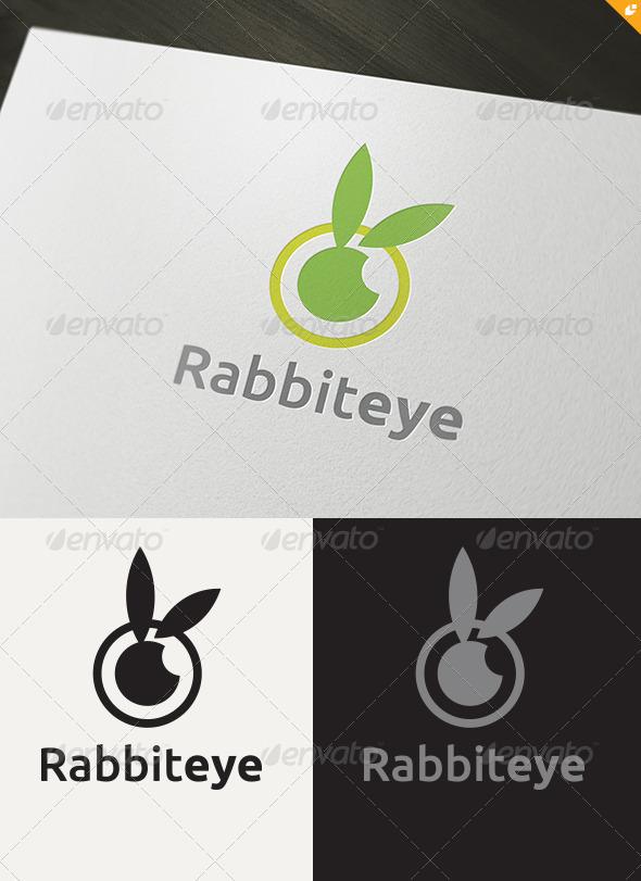 Rabbit Eye Logo - Animals Logo Templates