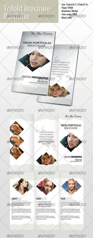 Trifold Portfolio Brochure #1 - Portfolio Brochures