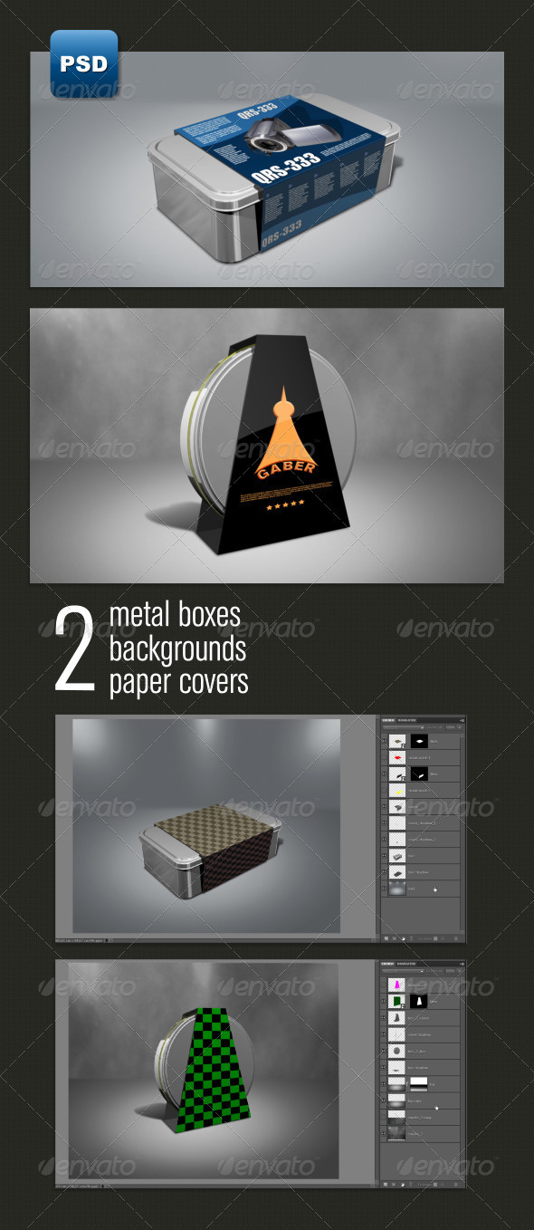 Metal Boxes - Miscellaneous Packaging
