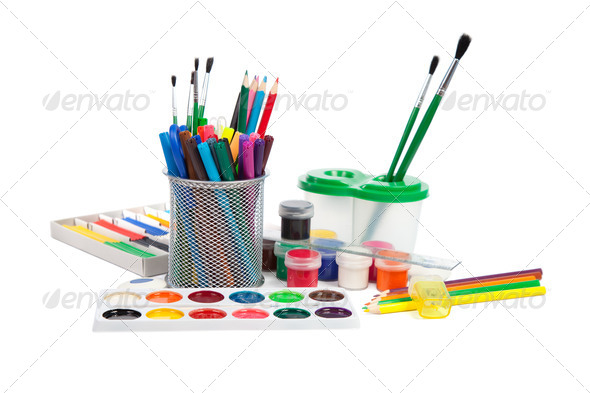 School Accessories - Stock Photo - Images