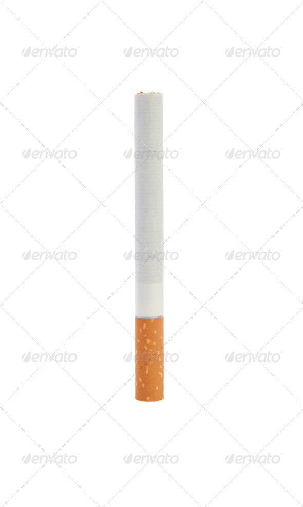 One cigarette - Stock Photo - Images