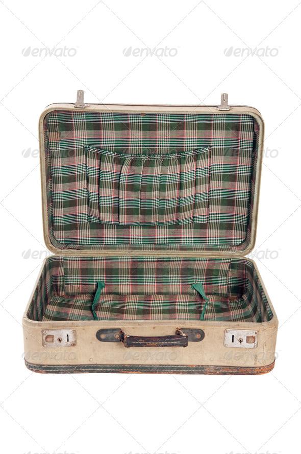 Vintage suitcase - Stock Photo - Images