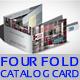 Four Fold Catalog Card - 2 - GraphicRiver Item for Sale