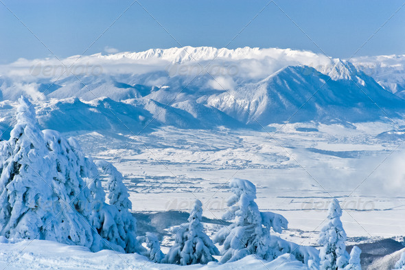 winter mountain - Stock Photo - Images