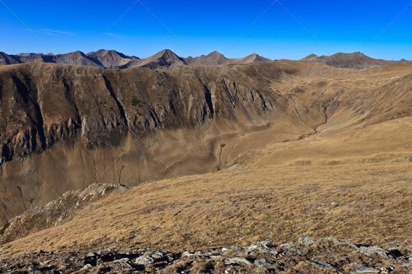 mountain scenery - Stock Photo - Images