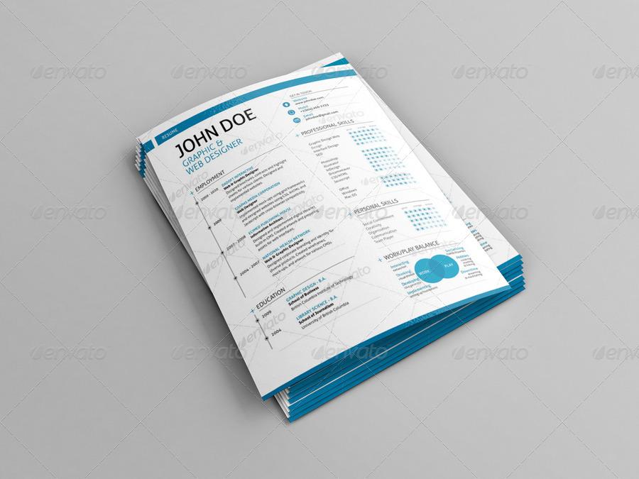 Resume/Poster/Flyer Mock-Ups