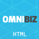 Omnibiz - Responsive Premium Website Template - ThemeForest Item for Sale