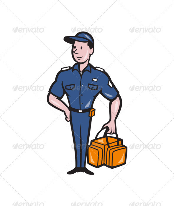 Emergency Medical Technician Paramedic EMT Cartoon - People Characters