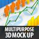 Multipurpose 3D Mock Up - GraphicRiver Item for Sale