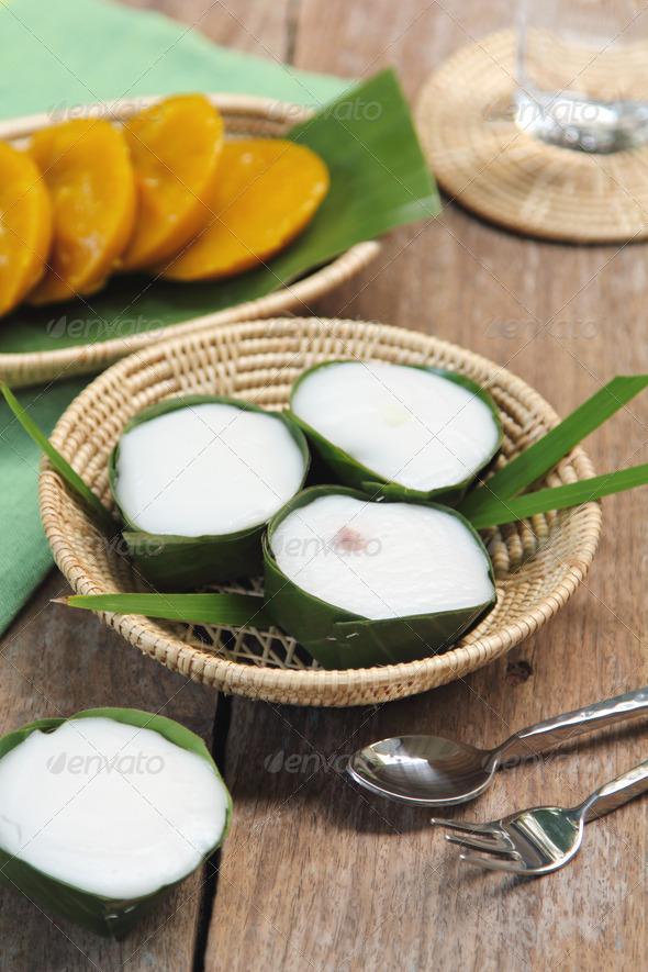 Thai desserts - Stock Photo - Images