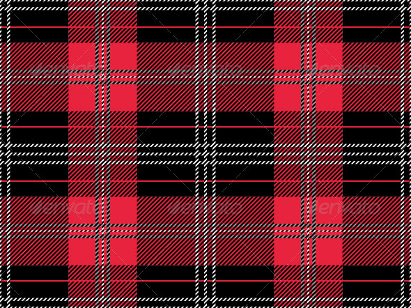 Seamless Tartan Pattern - Patterns Decorative