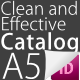A5 Clean and Effective InDesing Catalog - GraphicRiver Item for Sale