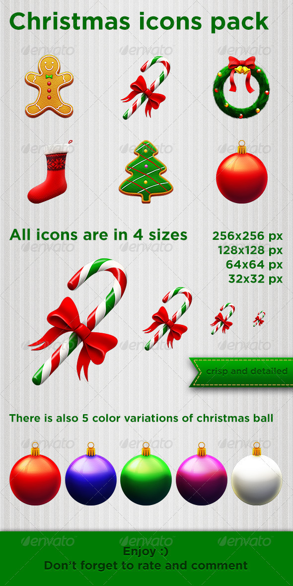 Christmas icons pack - Seasonal Icons