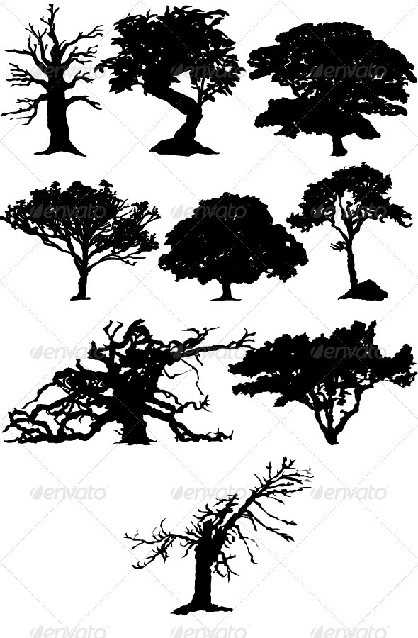 Trees - Organic Objects Objects