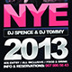 New Year's Eve Modern Flyer - GraphicRiver Item for Sale