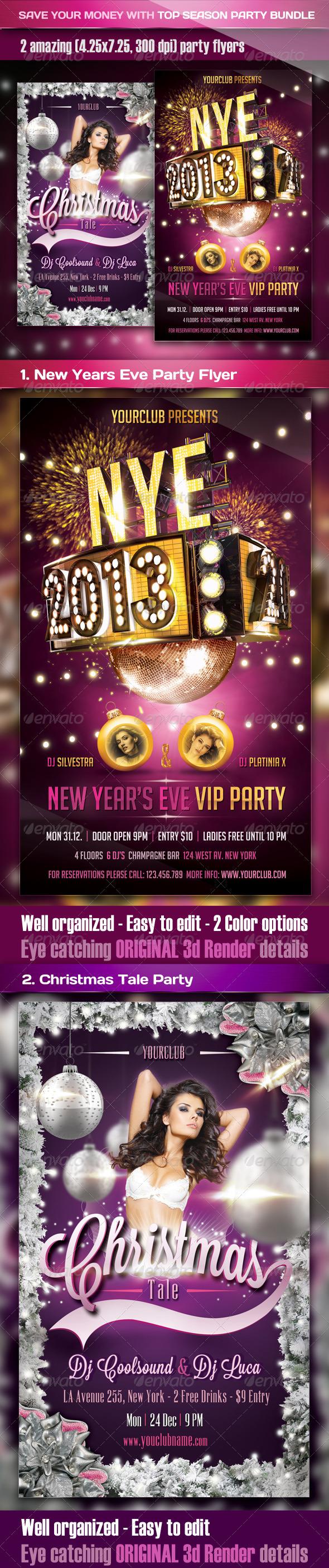 Top Season Party Bundle - Clubs & Parties Events