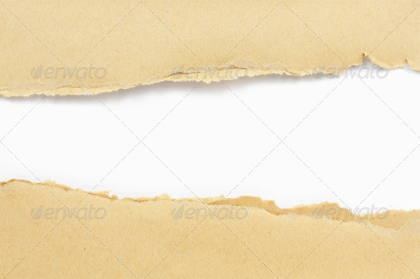 paper torn - Stock Photo - Images