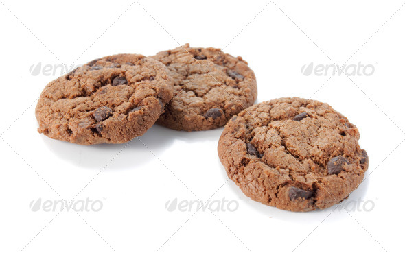 chocolate chips - Stock Photo - Images