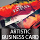 Artistic Business Card#3 PSD Template - GraphicRiver Item for Sale