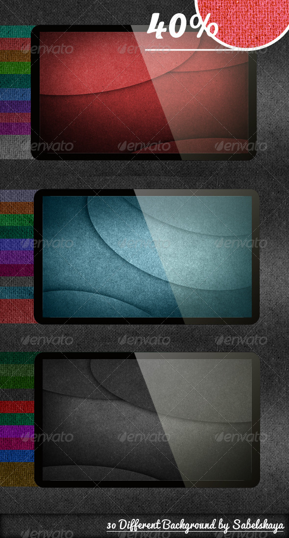 Rough Texture - 30 Different Background - Patterns Backgrounds