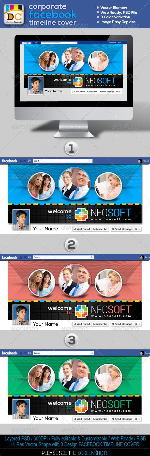 NeoSoft_Corporate FB Timeline Cover - Facebook Timeline Covers Social Media