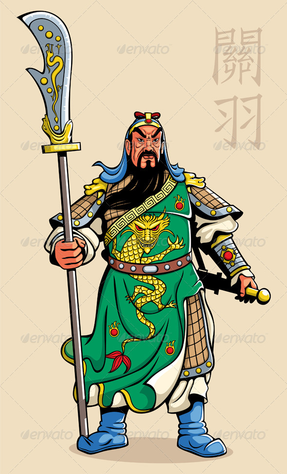 Chinese Warrior - People Characters