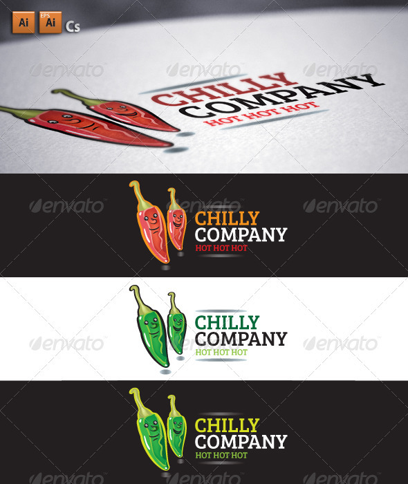 Chilly Company - Company Logo Templates