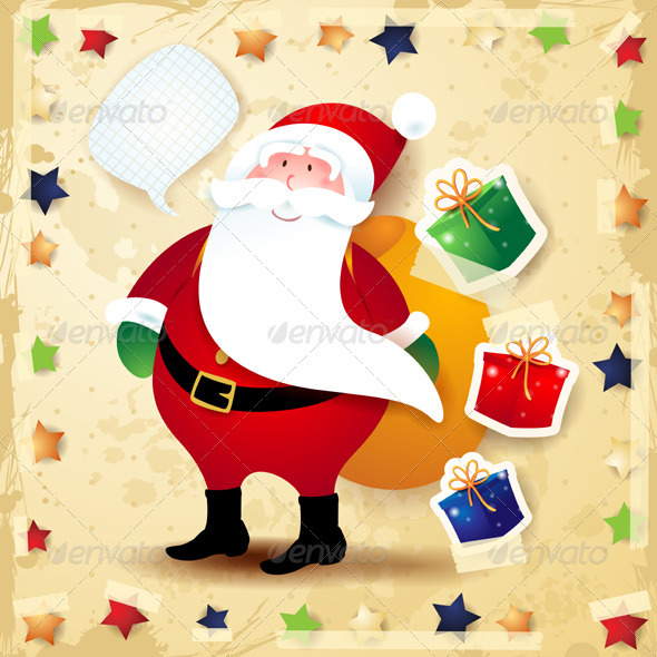 Santa Claus Background - Christmas Seasons/Holidays