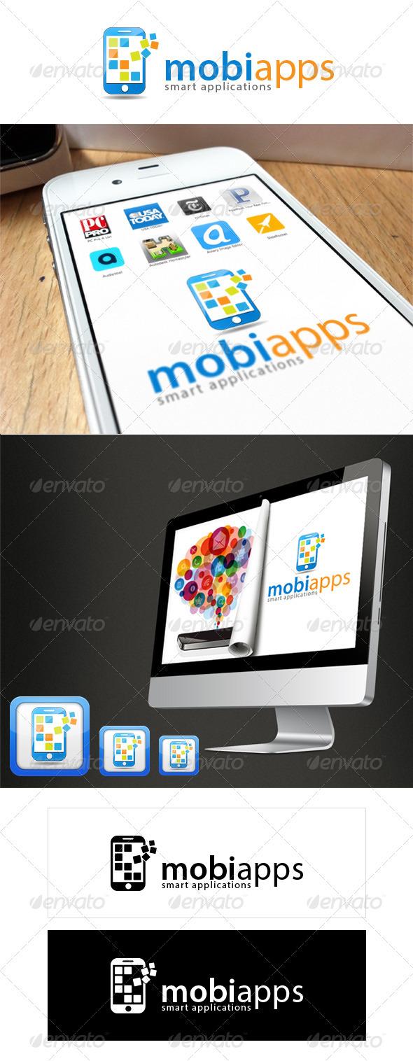 MobiApps - Smart Applications Logo - Symbols Logo Templates