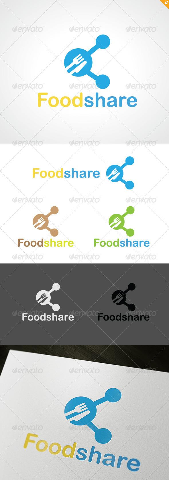 Food Share Logo - Food Logo Templates