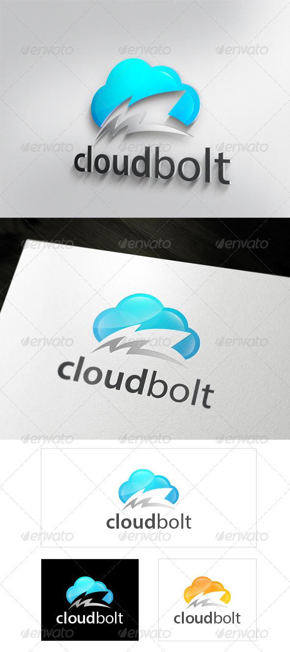 CloudBolt - Symbols Logo Templates