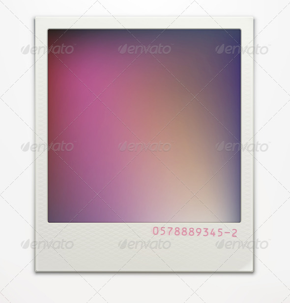 Polaroid Photo Frame - Borders Decorative