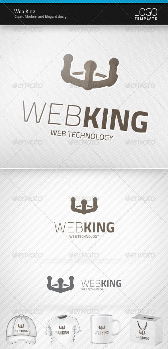 Web King Logo - Symbols Logo Templates