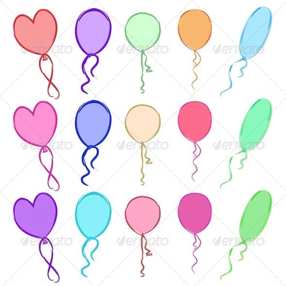 Balloons - Seasons/Holidays Conceptual