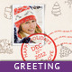 Happy Holiday/ Merry Christmas - Greeting Card - GraphicRiver Item for Sale