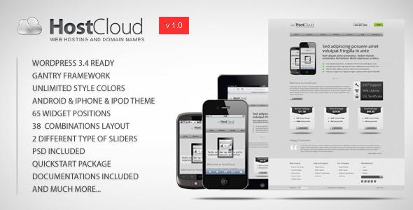 HostCloud - Premium WordPress Theme by Woo_Doo | ThemeForest