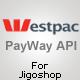 PayWay API (Westpac) Gateway for Jigoshop
