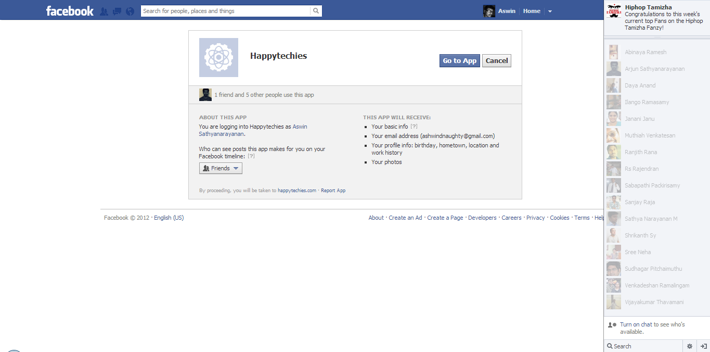 Facebook Login & User Analytics Script 1 0