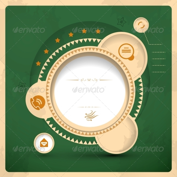 Vector Vintage Graphic - Web Elements Vectors