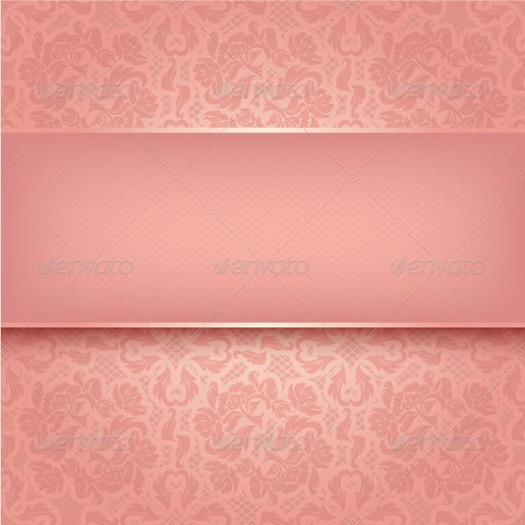 Decorative Pink Ornament - Backgrounds Decorative