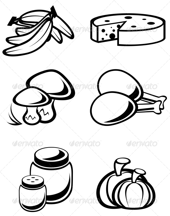 Food Symbols - Food Objects
